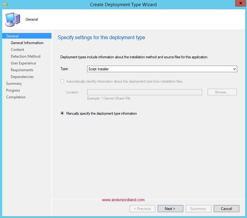 Deploy Windows Management Framework with SCCM - Step 3