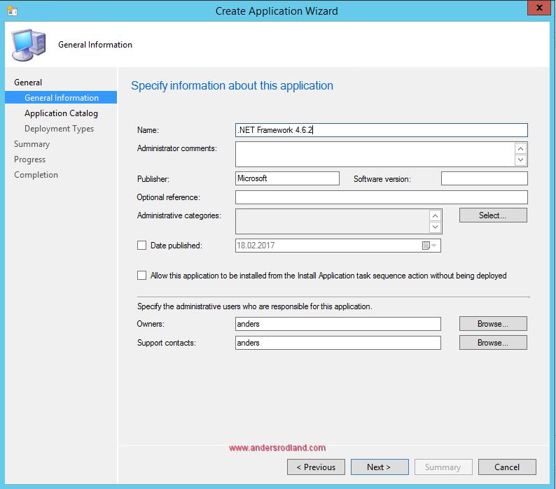 How to Deploy .NET Framework 4.6.2 with SCCM 2