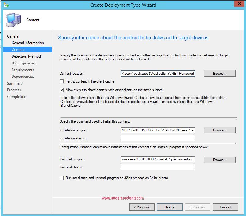 How to Deploy .NET Framework 4.6.2 with SCCM 5