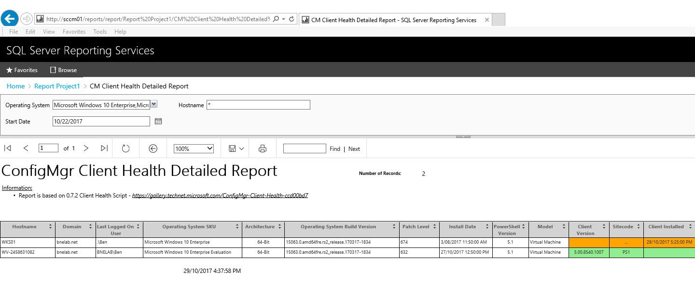 ConfigMgr Client Health 2