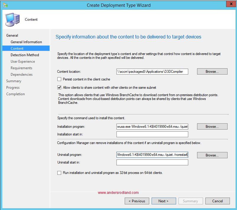 How to Deploy .NET Framework 4.7 With SCCM 5